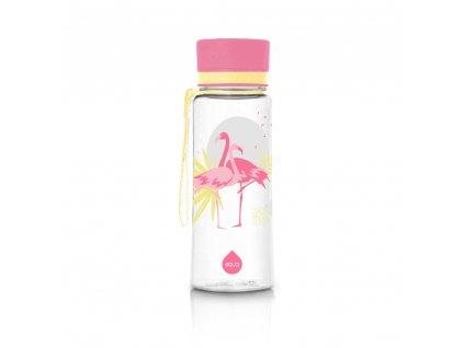 Equa Plastová lahev Flamingo 600 ml