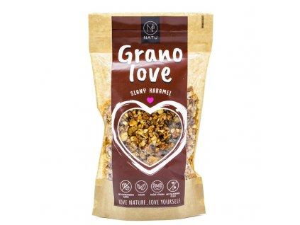 Natu Granolove Granola slaný karamel 400 g