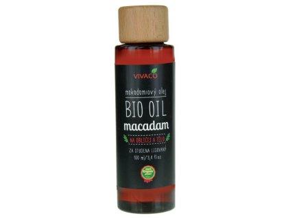 Vivaco Bio Makadamový olej 100 ml