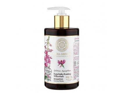 Flora Siberica Šampon pro jemné vlasy bez objemu Luxusní objem 480ml