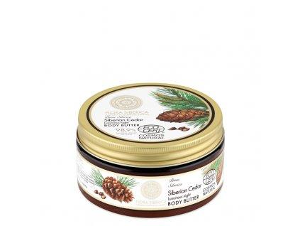 Flora Siberica Luxusní noční tělové máslo 300ml