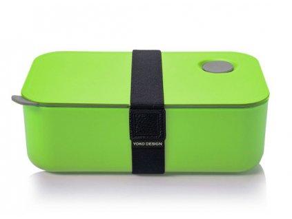 Yoko Design Box na jídlo zelený