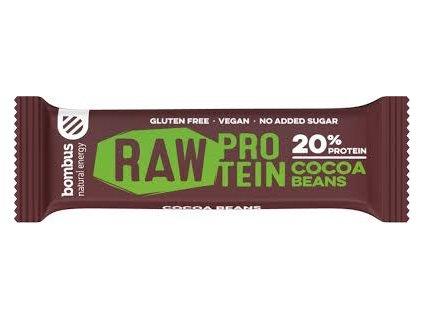 Bombus Raw energy 20% protein kakaové boby 50 g