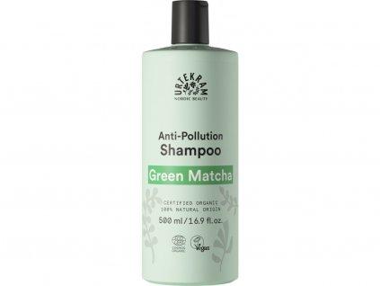 Urtekram Šampón regenerační na suché a poškozené vlasy Green Matcha Bio 500 ml