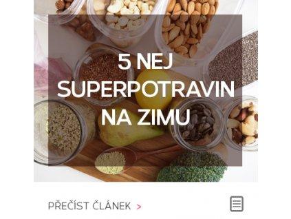 5 nej superpotravin na zimu