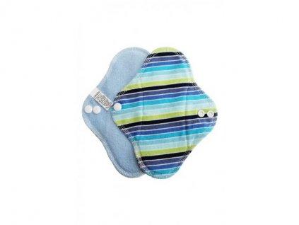Breberky Slipová vložka s PUL - Modré proužky