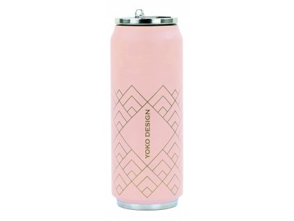 Yoko Design Termohrnek 500 ml Art Deco růžová