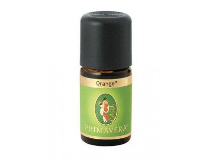 Primavera Přírodní éterický olej Pomeranč červený bio 5 ml