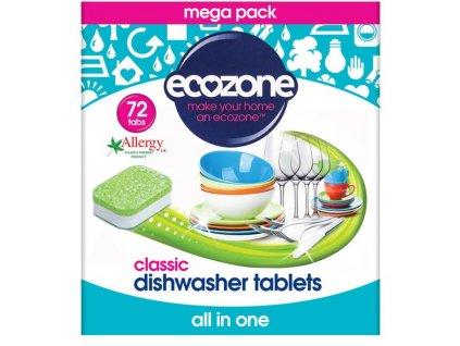 Ecozone Tablety do myčky 5in1 72ks