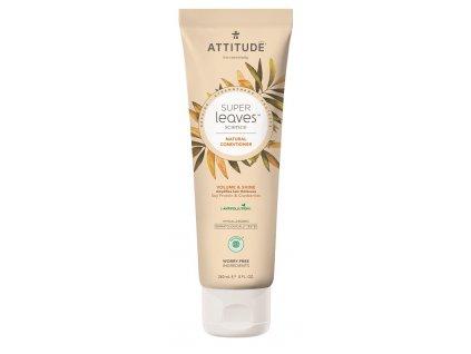 Attitude Super leaves Přírodní kondicionér s detoxikačním účinkem - lesk a objem pro jemné vlasy 240 ml
