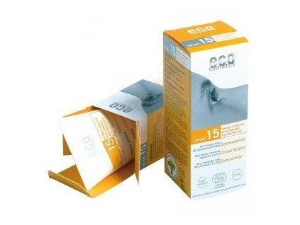 Eco Cosmetics Opalovací krém SPF 15 BIO 75 ml