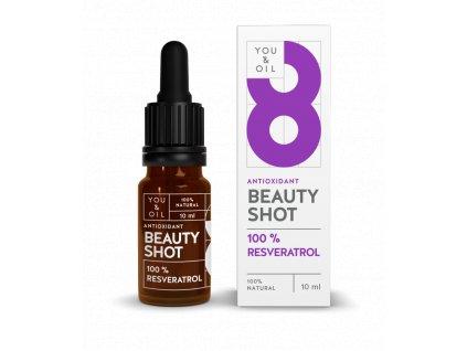 You & Oil Beauty Shot 100% Resveratrol 10ml