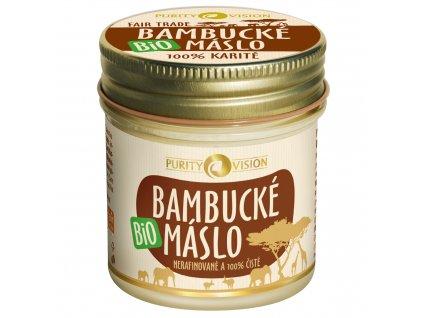 Purity Vision Prémiové bio Bambucké máslo 120 ml