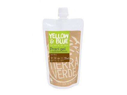 Yellow & Blue Prací gel z mýdlových ořechů na vlnu a jemné prádlo 250ml