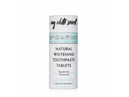 My White Secret Bělící zubní pasta v tabletách 60 ks
