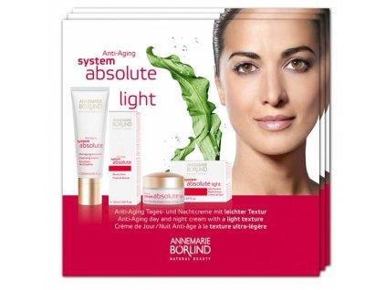 Annemarie Börlind Vzorek Absolute System Anti-aging LIGHT 4x2ml