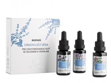 Nobilis Tilia Biofáze Obnovující séra Bazalka 3x20 ml