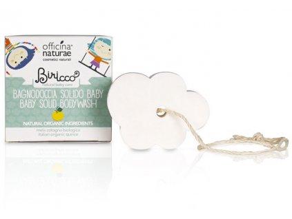 Officina Naturae Biricco Tuhé mýdlo pro děti 50 g