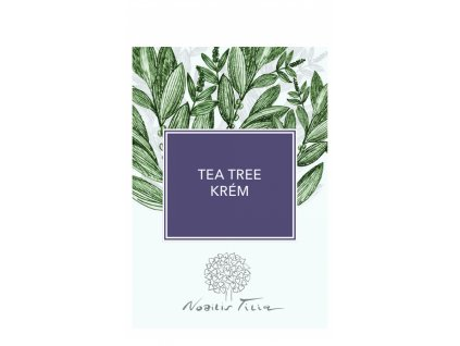 Nobilis Tilia VZOREK Tea tree krém 2 ml
