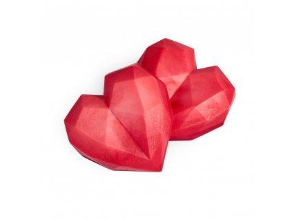 Soaphoria Valentine Dvojice přírodních mýdel Srdce
