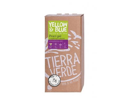 yellow blue praci gel levandule bag in box 2 l