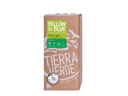 yellow blue praci gel bez vune bag in box 2 l