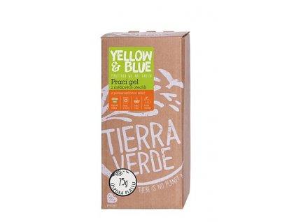 yellow blue praci gel pomeranc bag in box 2 l