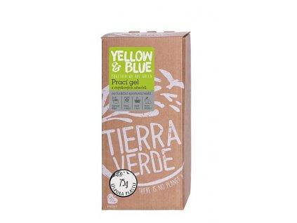 yellow blue praci gel sport bag in box 2 l