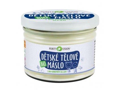 PURITY VISION Dětské tělové máslo BIO 350 ml