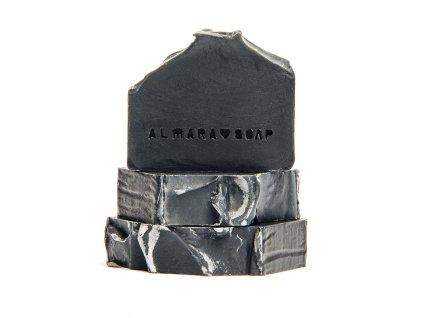 Almara Soap Black as my Soul 90 +- 5 g