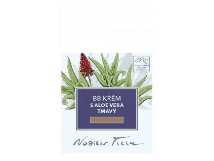 Nobilis Tilia VOREK BB krém s Aloe vera tmavý 1 ml