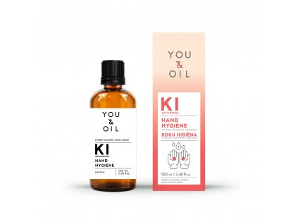 You & Oil Přírodní dezinfekční prostředek na ruce 100 ml