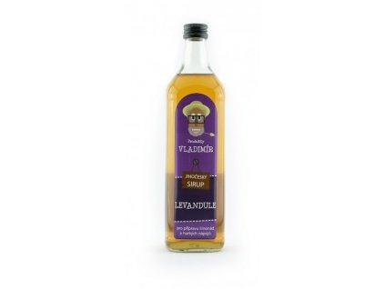Produkty Vladimír Přírodní sirup Levandule 700 ml