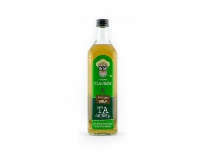 Produkty Vladimír Přírodní sirup Ta Okurka 700 ml