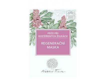 Nobilis Tilia VZOREK Regenerační maska na rozšířené žilky 2 ml