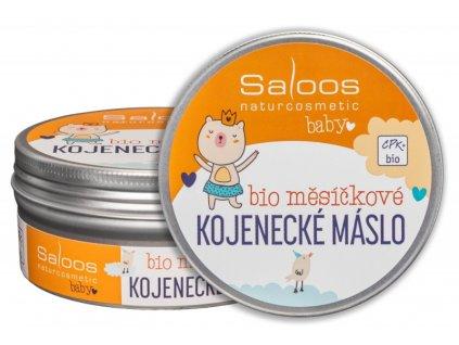 Saloos Šlehané měsíčkové kojenecké máslo Bio 150 ml