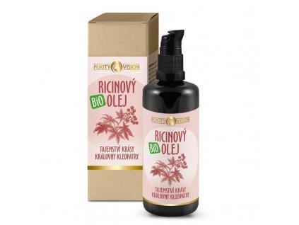 Purity Vision Ricinový olej BIO 100 ml