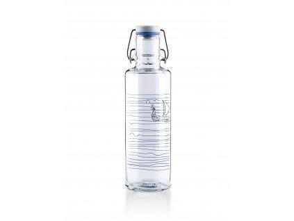 Soulbottles Skleněná láhev Heimatwasser 600 ml