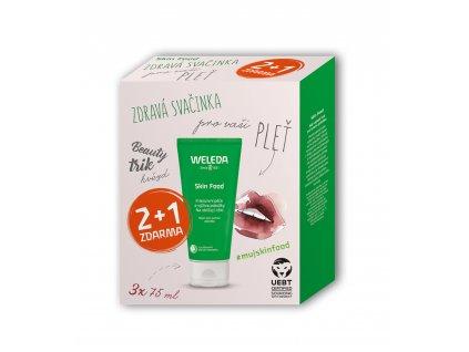 Weleda Univerzální výživný krém Skin Food Multipack 2 +1