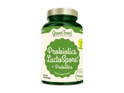 GreenFood Probiotika LactoSpore® s prebiotiky 60 kapslí