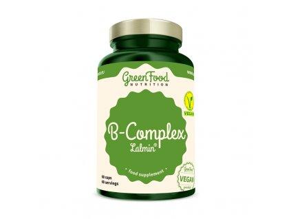 GreenFood B-Komplex Lalmin® 60 kapslí