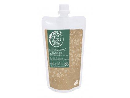 Tierra Verde Náhradní náplň pro osvěžovač vzduchu rozmarýn a citron Bio 200 ml