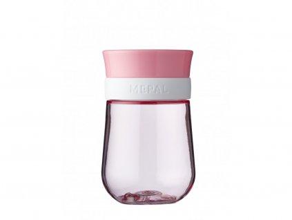 Mepal Dětská trénovací sklenice 360° Mio 300 ml Pink