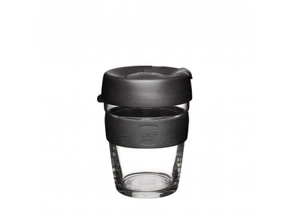 KeepCup Skleněný hrnek Brew Black M 340 ml