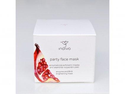 Indívo Bioaktivní enzymatická maska Party Face 50 ml