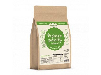 GreenFood Proteinové palačinky bez lepku Jablko se skořicí 500 g