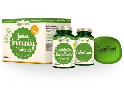 GreenFood Sada Junior Immunity & Probiotics + PillBox