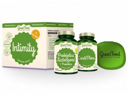 GreenFood Sada Intimity + dárek Pill Box