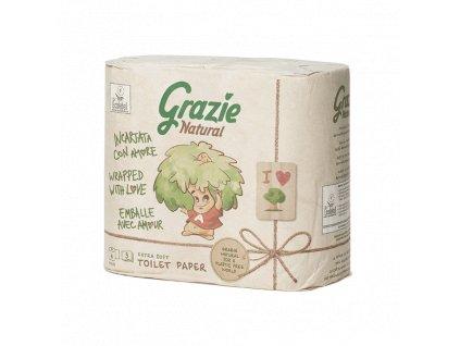 Grazie Natural Ekologický toaletní papír 2-vrstvý 4 role