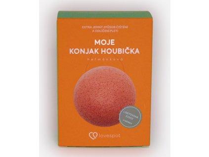 Lovespot Konjak houbička Heřmánek 1 ks